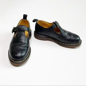 Dr. Martens   Black Leather Mary Janes   8